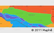 Political Simple Map of Cerrito