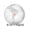 Outline Map of Desmochados