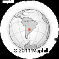 Outline Map of Gral. Jose E. Diaz