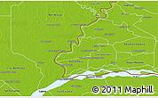 Physical 3D Map of Humaita