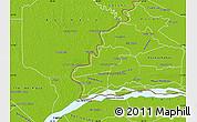 Physical Map of Humaita