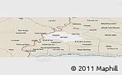 Classic Style Panoramic Map of Isla Umbu