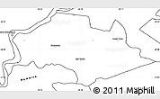 Blank Simple Map of Isla Umbu