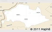 Classic Style Simple Map of Isla Umbu