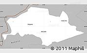 Gray Simple Map of Isla Umbu