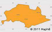 Political Simple Map of Isla Umbu, cropped outside
