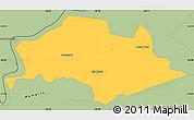 Savanna Style Simple Map of Isla Umbu