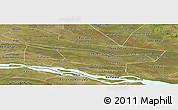 Satellite Panoramic Map of Laureles