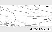 Blank Simple Map of Laureles