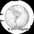 Outline Map of Neembucu