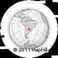 Outline Map of Paso De Patria