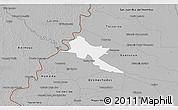 Gray 3D Map of Pilar