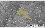 Satellite 3D Map of Pilar, desaturated