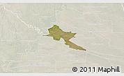 Satellite 3D Map of Pilar, lighten