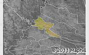Satellite Map of Pilar, desaturated