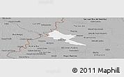 Gray Panoramic Map of Pilar