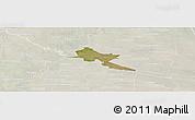 Satellite Panoramic Map of Pilar, lighten