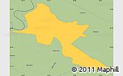 Savanna Style Simple Map of Pilar