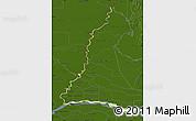 Physical Map of Rio Parana, darken