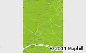 Physical Map of Rio Parana