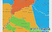 Political Map of San Juan Bta. del Neembuc