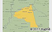 Savanna Style Map of San Juan Bta. del Neembuc