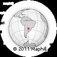 Outline Map of San Juan Bta. Del Neembuc