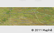 Satellite Panoramic Map of San Juan Bta. del Neembuc