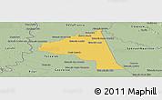 Savanna Style Panoramic Map of San Juan Bta. del Neembuc
