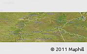 Satellite Panoramic Map of Villa Franca