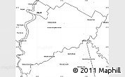 Blank Simple Map of Villa Franca