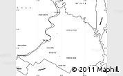 Blank Simple Map of Villa Oliva