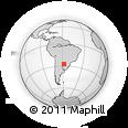 Outline Map of Villalvin