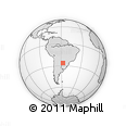 Outline Map of Caapucu