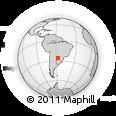 Outline Map of San Roque Gonzalez