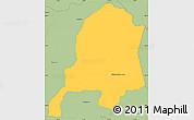 Savanna Style Simple Map of Ybytymi
