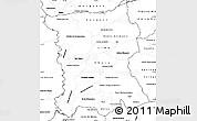 Blank Simple Map of San Pedro