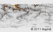 Physical Panoramic Map of Apurimac