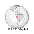 Outline Map of Arequipa