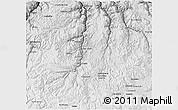 Physical 3D Map of Chumbivilcas