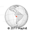 Outline Map of Chumbivilcas