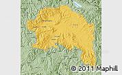 Savanna Style Map of Espinar