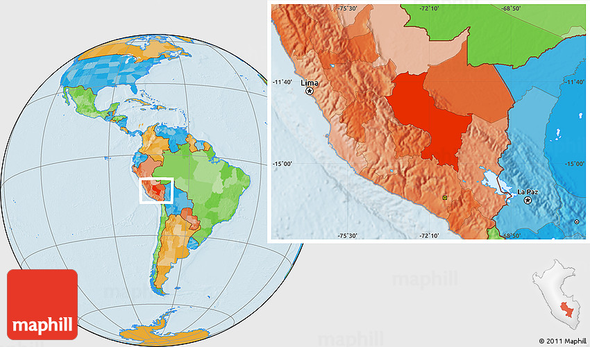 Political location map of cuzco publicscrutiny Image collections