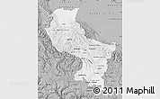 Gray Map of Cuzco