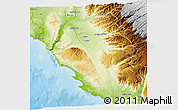 Physical 3D Map of Nazca