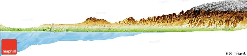 Physical Horizon Map of Nazca