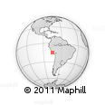 Outline Map of Nazca