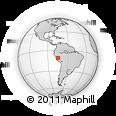 Outline Map of Chanchamayo