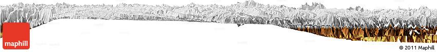 Physical Horizon Map of Huancayo