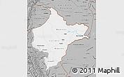 Gray Map of Loreto